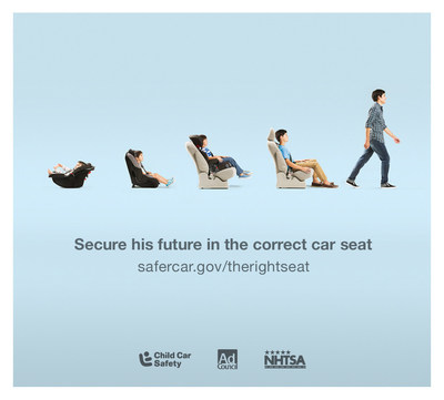 NHTSA & Ad Council Launch Campaign for Child Passenger Safety Week #therightseat
