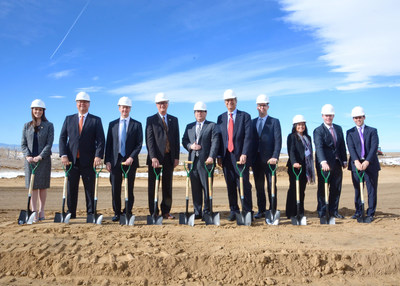 Gaylord Rockies Resort and Convention Center Hosts Ceremony; To Mark Commencement of Vertical Construction Project Will Deliver the Largest Combined Hotel and Convention Center in Colorado
