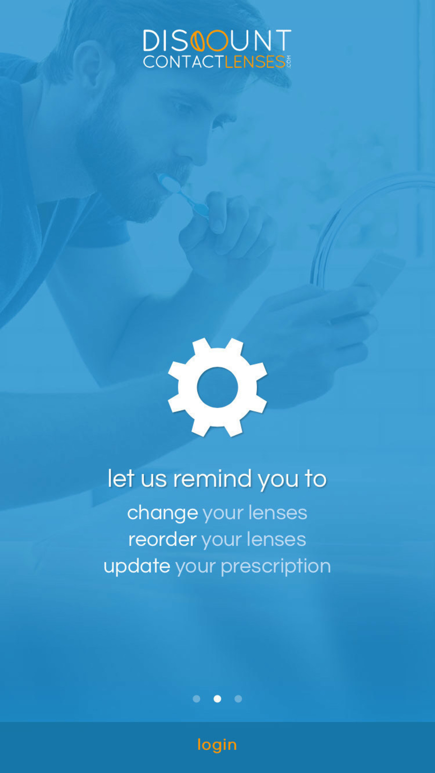 Discountcontactlenses Com Creates App That Lets Contact Wearers Order In 2 Taps And Spend Less