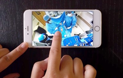 Los Angeles Startup Takes Public Inside the Operating Room with Public Live Stream of a Surgery in 360-degree/Virtual Reality from 360fly