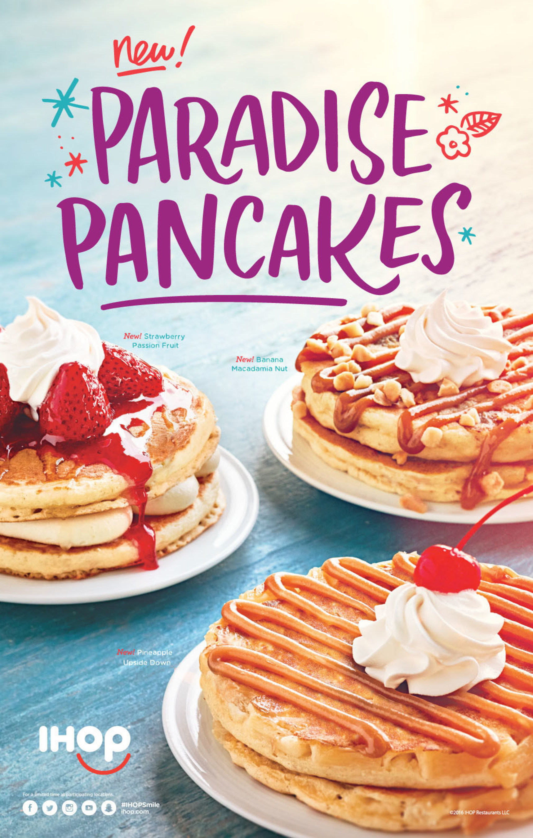 IHOP's Paradise Pancakes