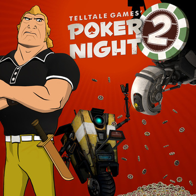 'Telltale Games' Poker Night 2' coming this month to Xbox 360, PlayStation 3, and PC/MAC via Steam. (PRNewsFoto/Telltale, Inc.) (PRNewsFoto/TELLTALE, INC.)