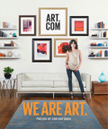 Art.com offers the largest selection of images. Find your art. Love your space.  (PRNewsFoto/Art.com)