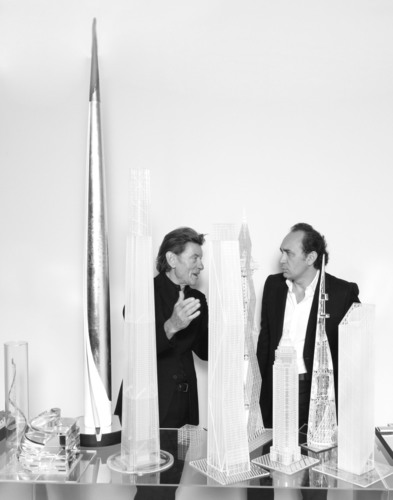 Internationally acclaimed architect Helmut Jahn (left) announced today that he will share design leadership of ...