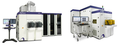 KLA-Tencor's 2910 Series optical wafer defect inspection platform and eDRTM-7100 electron-beam wafer defect review system.  (PRNewsFoto/KLA-Tencor Corporation)