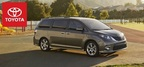 The 2014 Toyota Sienna offers more than 120 cubic-feet of space as well as having several features to make it one of the most family-friendly vehicles available today. (PRNewsFoto/Toyota of Naperville)