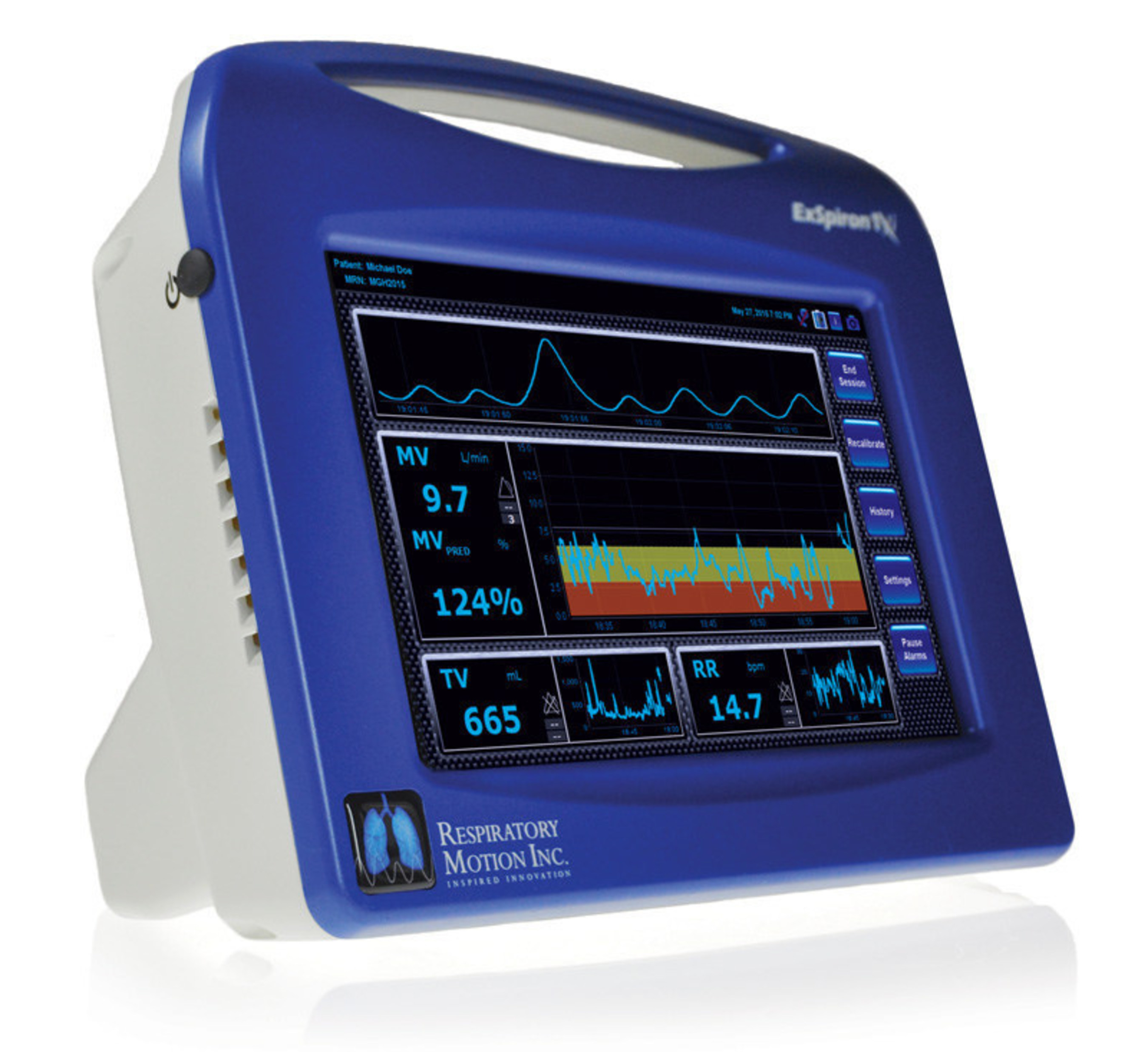Respiratory Motion tackles the biggest respiratory challenges by Monitoring Minute Ventilation at AACN NTI 2016