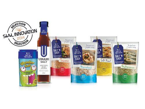 3 Innovative salt products won SIAL Innovation 2014 Selection (PRNewsFoto/Salt of the Earth Ltd)