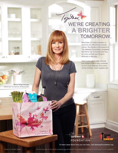 Marg Helgenberger Teams Up Again with Stand Up To Cancer and The