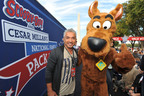 Cesar Millan & Scooby-Doo at 2nd Annual National Family Pack Walk, Sept. 29, 2012 in D.C.  (PRNewsFoto/Warner Bros. Consumer Products)