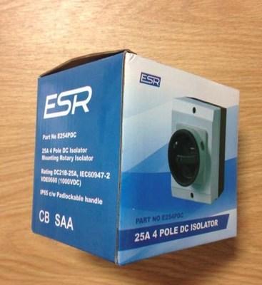 ESR Counterfeit Packaging