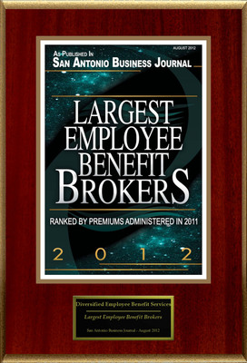 """Diversified Employee Benefit Services Selected For """"Largest Employee Benefit Brokers"""". (PRNewsFoto/Diversified Employee Benefit Services) (PRNewsFoto/DIVERSIFIED EMPLOYEE BENEFIT)"""