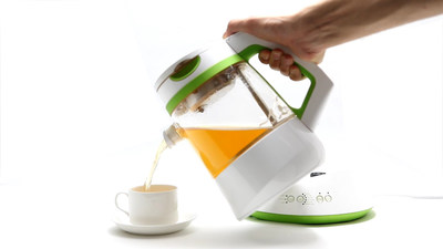 Innovative Qi teamaker Reinvents the World's Tea Brewing Experience on Kickstarter