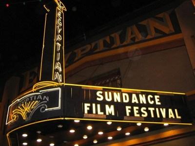 Staple Sundance Film Festival Theatre where the bulk of films are screened in Park City