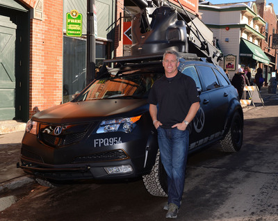 """Mike Majesky of Pursuit Systems, panelist on """"Cue Car Chase.""""  (PRNewsFoto/Acura)"""