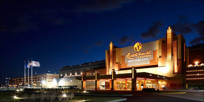 Night time is the right time at Resorts World Casino - New York.