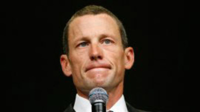 Lance Armstrong.  (PRNewsFoto/The Klown Times (Sports))