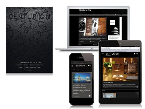 Centurion Magazine Online for Centurion Card Members from American Express. Relaunch provides a whole new online experience and elevates the site to the ranks of the world's most influential sources of luxury news, views and inspiration. (PRNewsFoto/Journal International)
