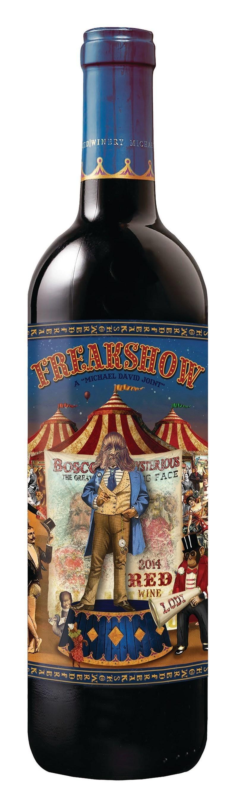 2014 Freakshow Red Wine