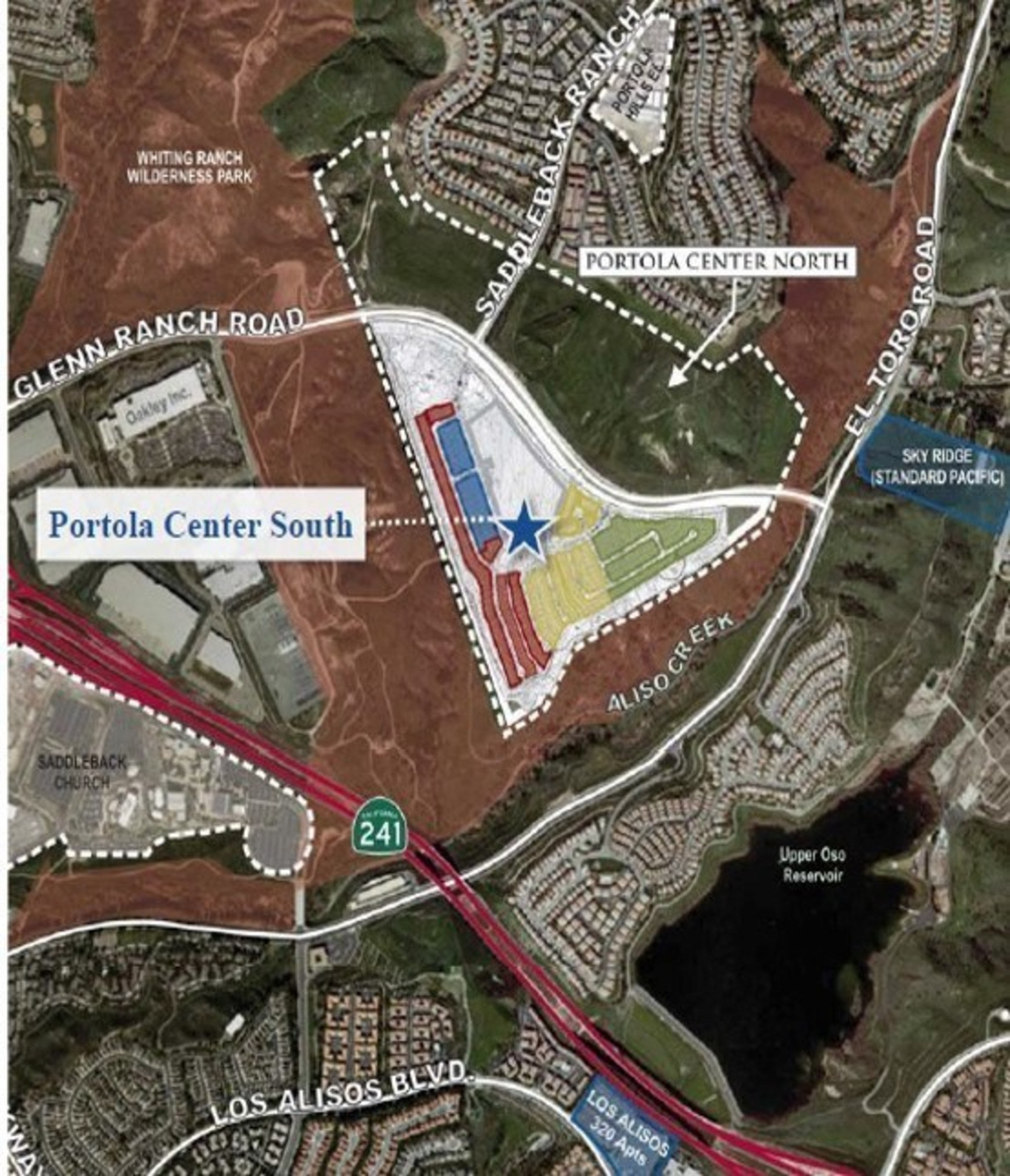 Portola Center South - $100 Million Land Transaction in Lake Forest, CA