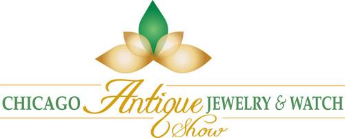 Chicago Antique Jewelry Watch Show Logo Prnewsfoto