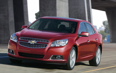 The latest Malibu will complete the portfolio of the next-generation 2013 models and offers a powerful engine for customers.  (PRNewsFoto/CarBuyersExpress.com)