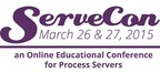 ServeCon is the online educational conference for process servers. Register at www.servecon.com