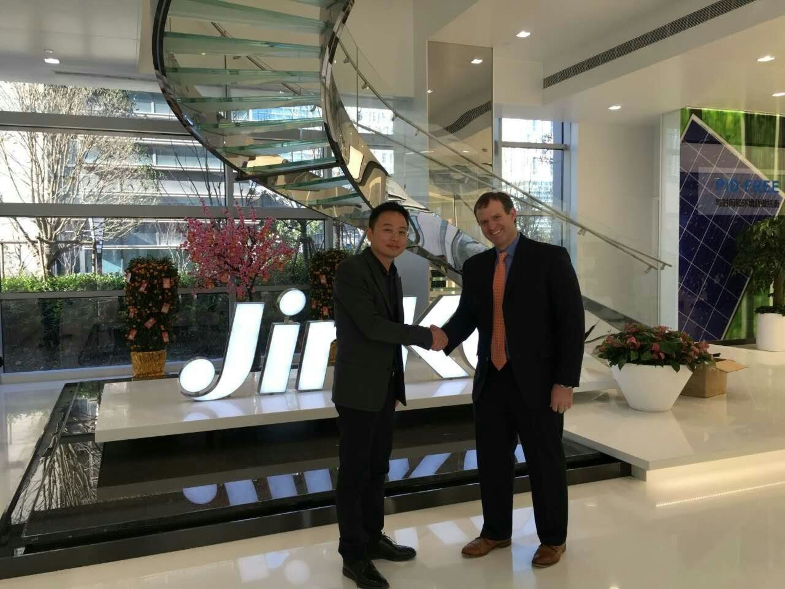 JinkoSolar Signs One Gigawatt Supply Agreement with sPower