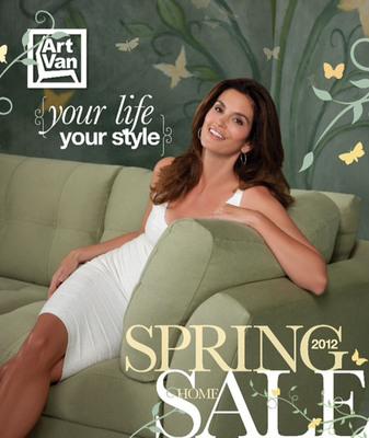 Art Van Furniture to Unveil Stylish 2012 Spring Furniture Catalog.  (PRNewsFoto/Art Van Furniture)