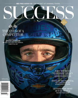 The SUCCESS March issue reveals the lessons NASCAR legend Jimmie Johnson learned both on and off the track as he opens up on going the extra mile, as well as more stories about teamwork and building a team that will take you across the finish line.