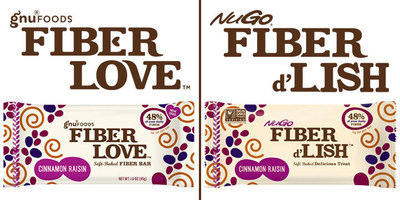 NuGo Nutrition acquires Gnu Foods Fiber Love. New name of Fiber d'Lish, with the same soft-baked, delicious recipe. Fiber with the taste you crave.