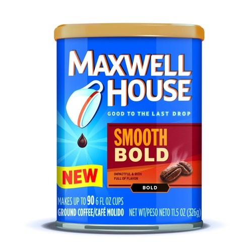 New Maxwell House Smooth Bold offers a deep and extra dark flavor. (PRNewsFoto/Maxwell House)
