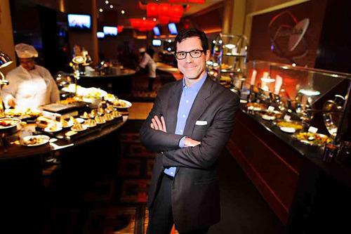 Centerplate's Chief Marketing Officer Bob Pascal.  (PRNewsFoto/Centerplate)