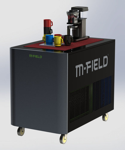 M-FIELD offers various modules, including fuel cell, controller, and electrolyzer modules, all of which can be integrated with its energy storage system. (PRNewsFoto/M-FIELD)