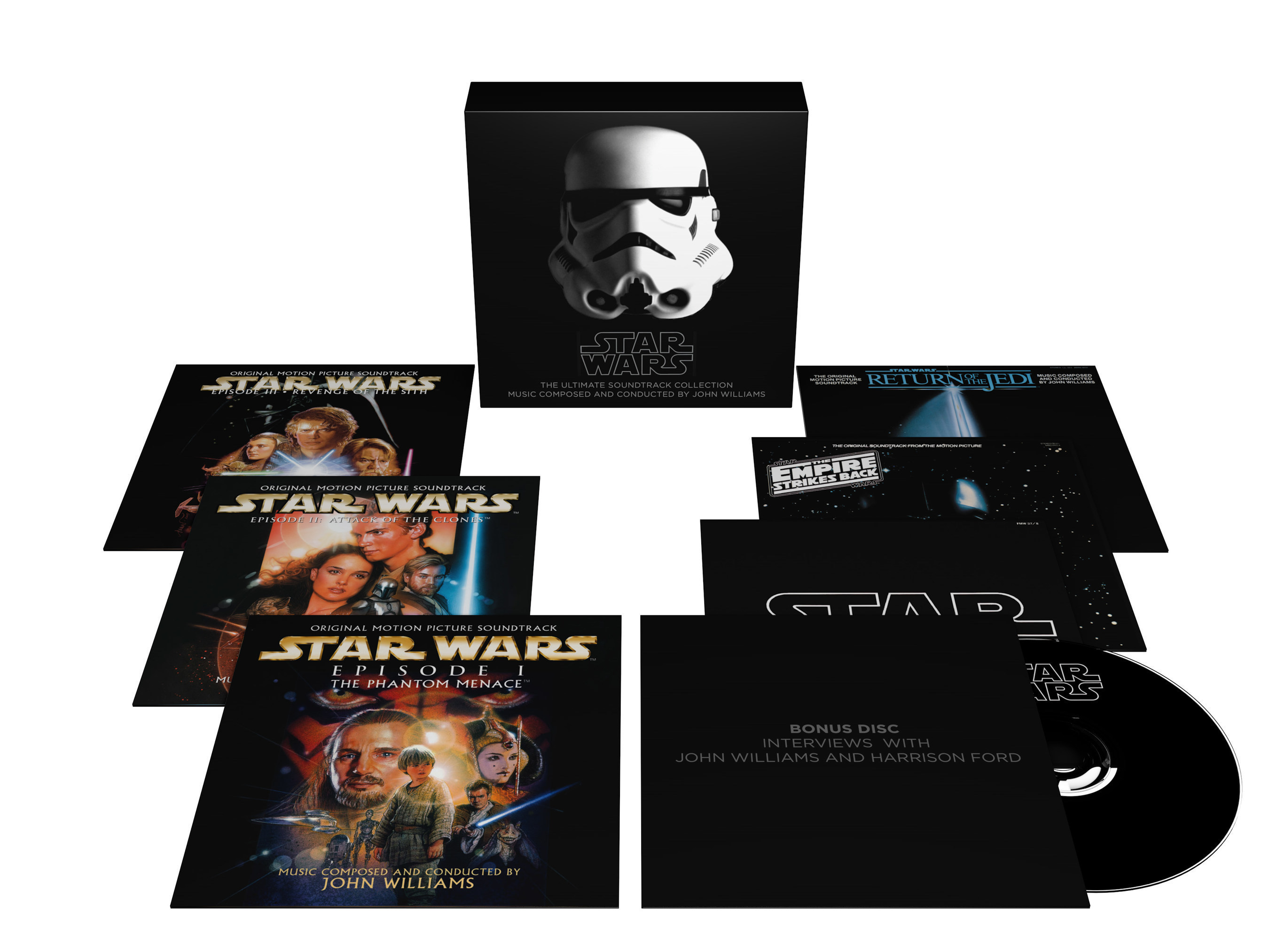Star Wars: The Ultimate Soundtrack Collection (10 CDs plus DVD) - available now