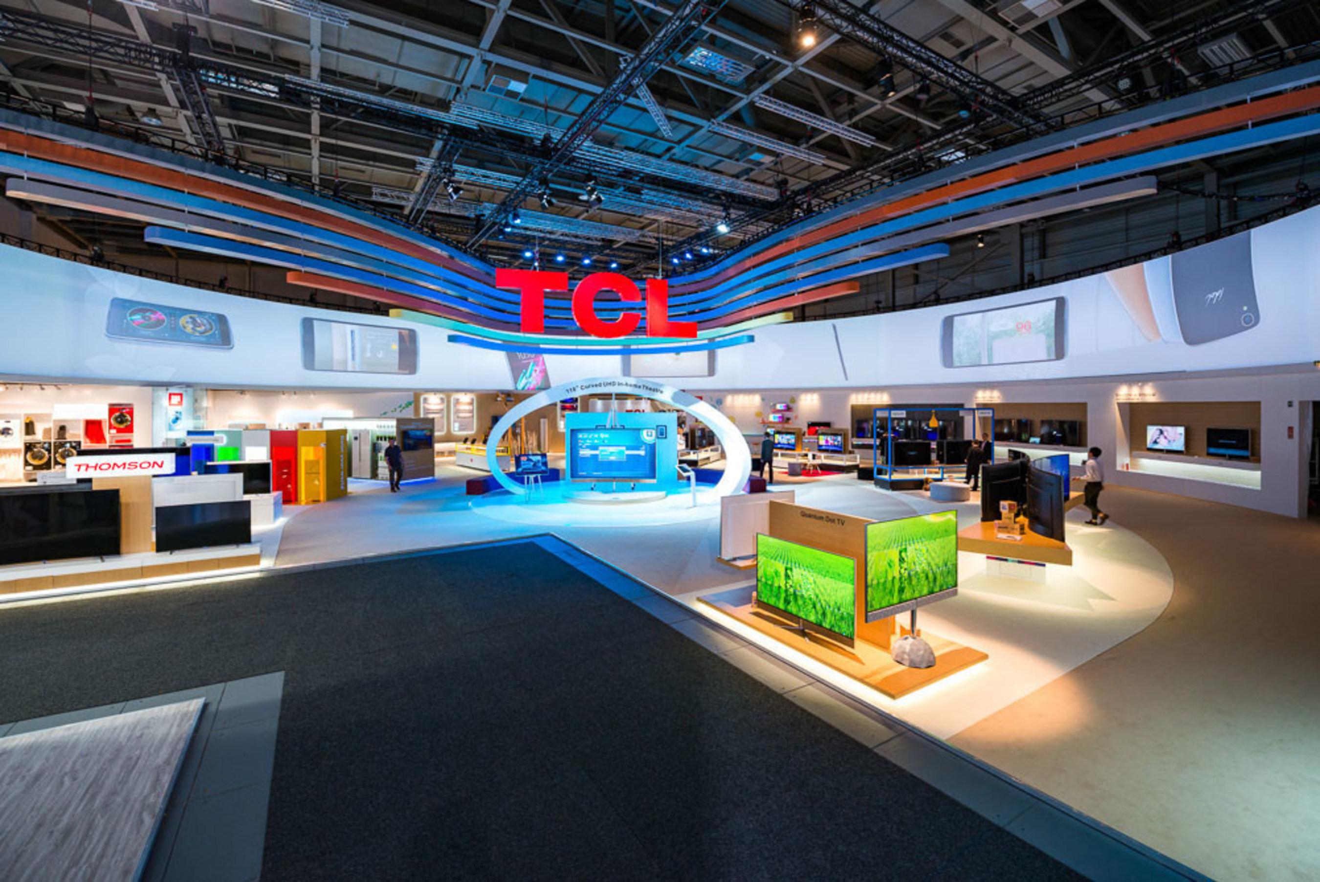 TCL met en vedette sa gamme complète de produits intelligents à l'IFA