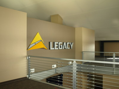 Tension fabric structures on rigid, solid steel frames by Legacy Building Solutions