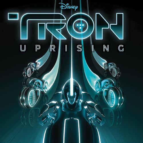TRON: Uprising Digital Cover.  (PRNewsFoto/Walt Disney Records)