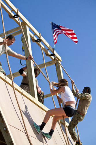 U.S. Navy SEALs Launch BattleFrog, A New Obstacle Race Series In Cities Across America. (PRNewsFoto/BattleFrog)  ...