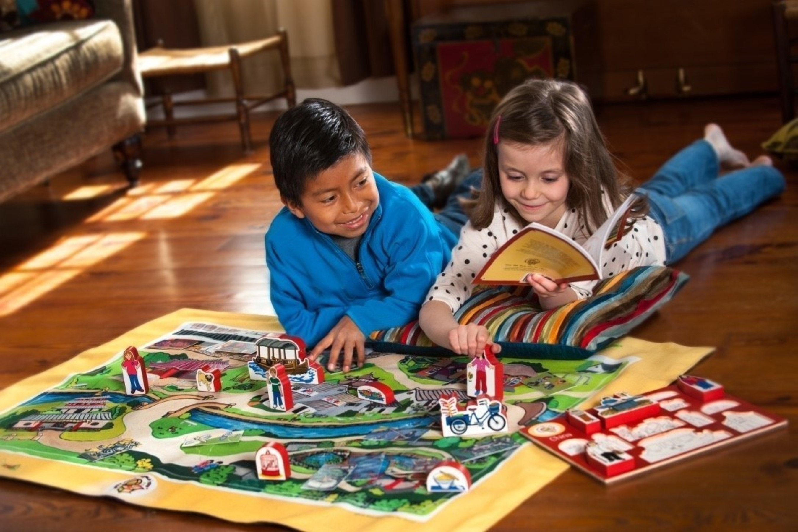 World Village Playsets Helps Low-Income Children Explore the World