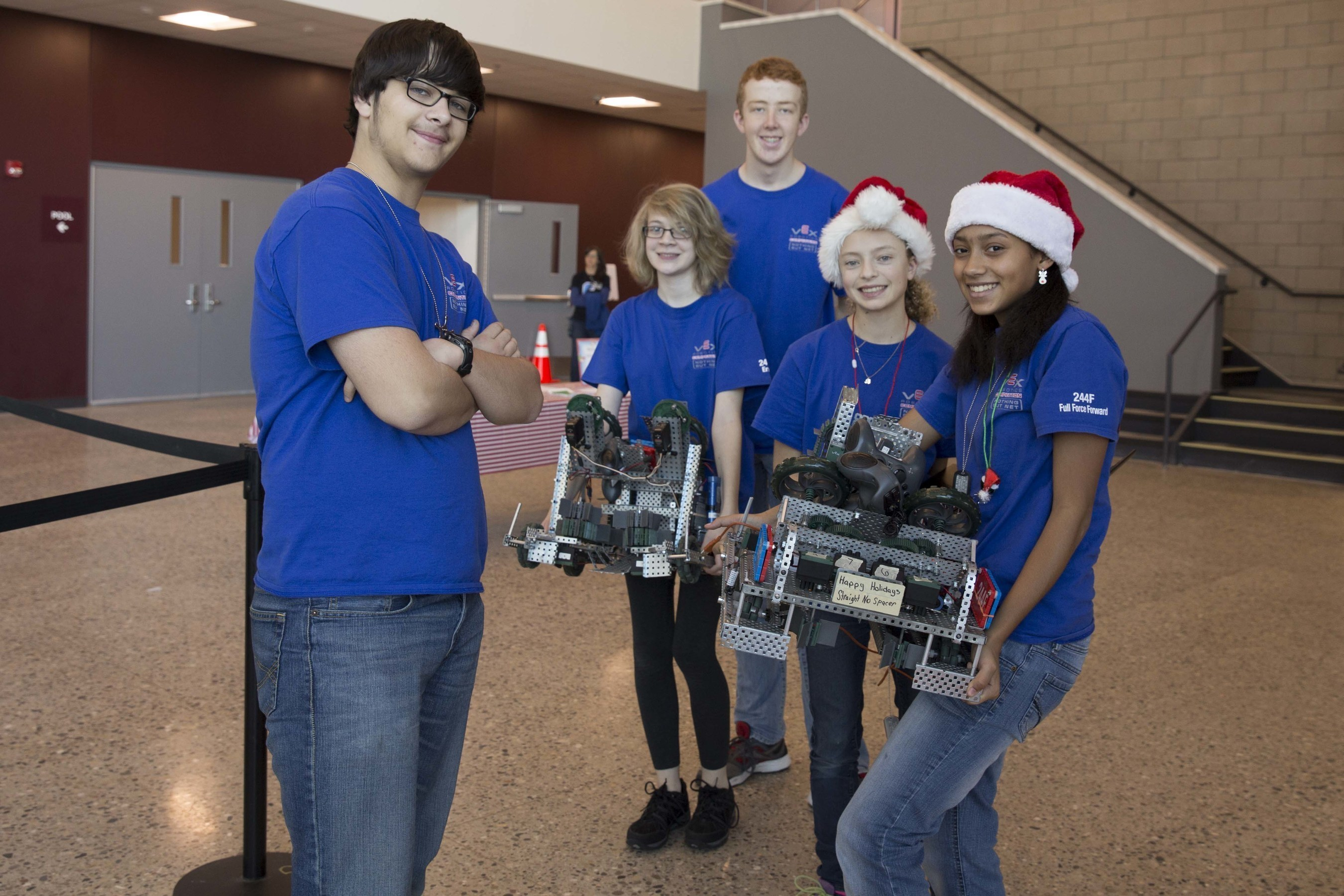 Grandville Public Schools to Host Ten VEX Robotics Competitions - and the first West Michigan Regional VEX Championship