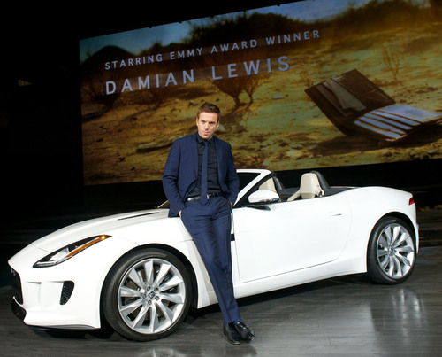 Jaguar reveals plans to work with Ridley Scott Associates on Short Film 'Desire' starring Damian Lewis at the US debut event for the all-new F-TYPE at Paramount Pictures Studios in LA on November 27, 2012.  (PRNewsFoto/Jaguar)