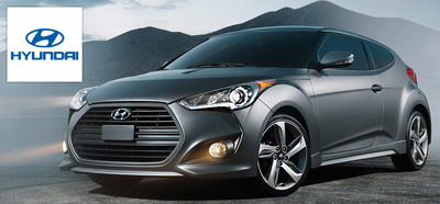 The 2014 Hyundai Veloster in Janesville, Wis. is giving college drivers the chance to excel beyond graduation. (PRNewsFoto/Hesser Hyundai)