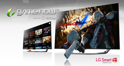 LG Electronics and Ubitus at E3.  (PRNewsFoto/LG Electronics, Inc.)