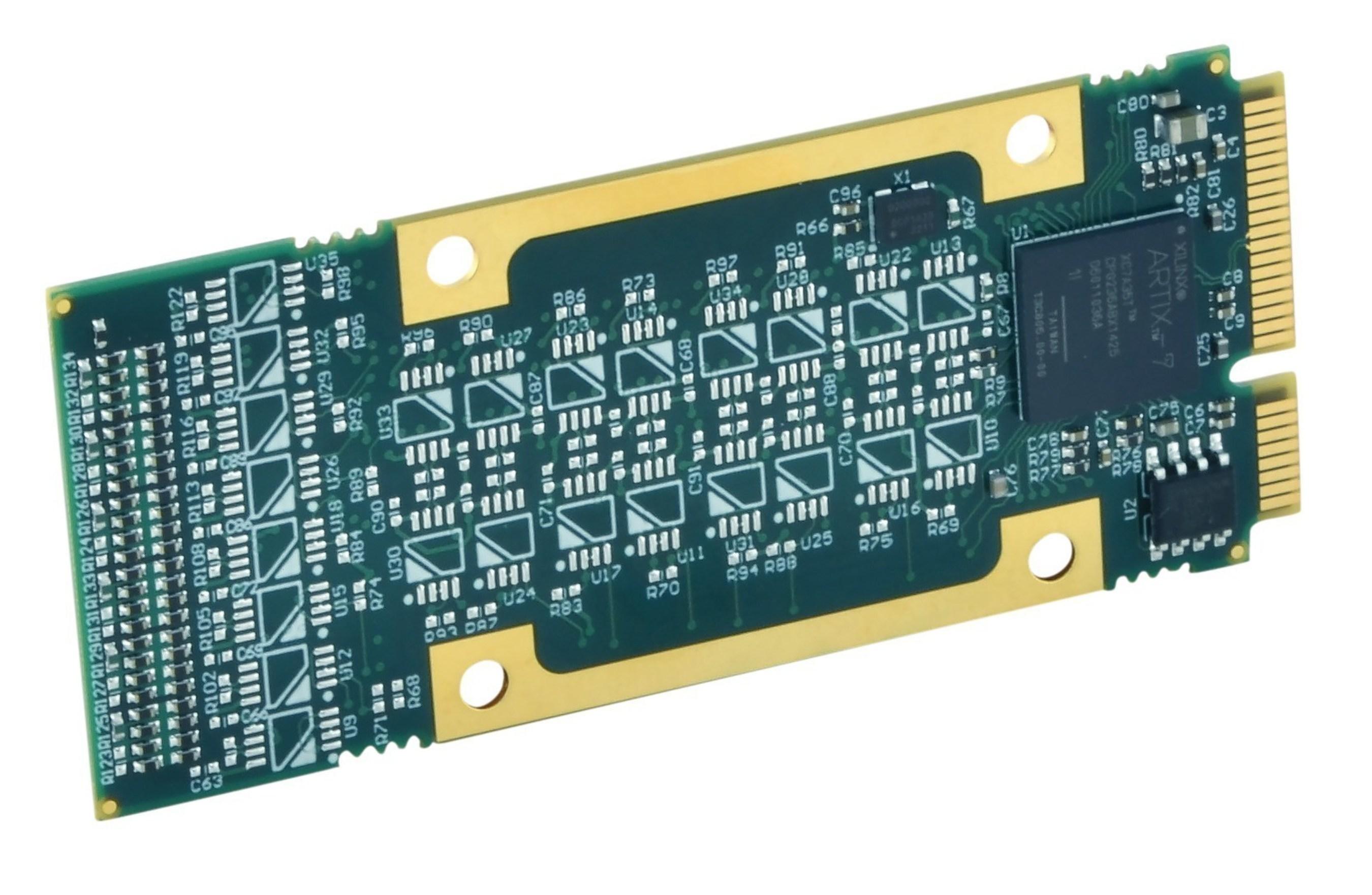 Acromag's New AcroPack I/O Platform adds a Reconfigurable Xilinx' Artix'-7 FPGA for Custom Computing Applications