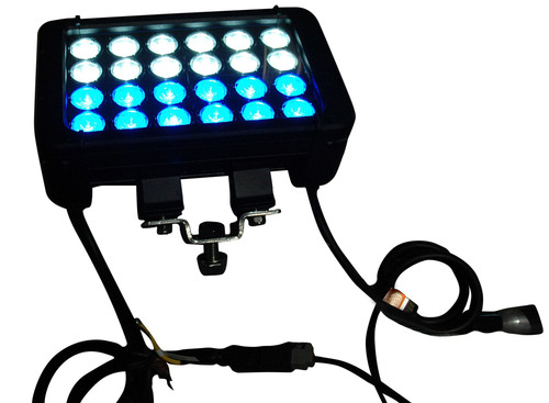 Larson Electronics Releases Dual Color LED Light Bar with White and Blue LEDS