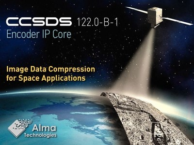 Alma Technologies today introduced at the Toulouse Space Show 2016 a new encoder IP core which implements the CCSDS 122.0-B-1 lossless and lossy image data compression standard.