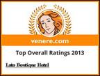 Lato Boutique Hotel Award.  (PRNewsFoto/Lato Boutique Hotel)