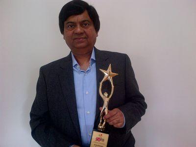 Mr. Krishna Srivastava Awarded Top CMO Award by CMO Council (PRNewsFoto/Zuari Cement Limited)