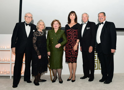 Mary and John Pappajohn, Margo and George Behrakis and Andrew N. and Paula Liveris at The Hellenic Initiative's 2nd Annual Gala at The Museum of Modern Art. (PRNewsFoto/The Hellenic Initiative)